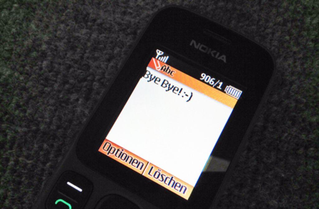 Nach fünf Tagen sage ich Tschüs zu meinem Nokia 100. Morgen früh hole ich mir mein iPhone zurück. Foto: StZ
