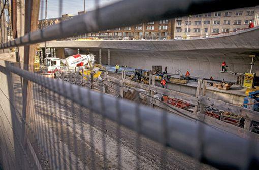 Haltestellenbau bremst Stadtbahnen aus