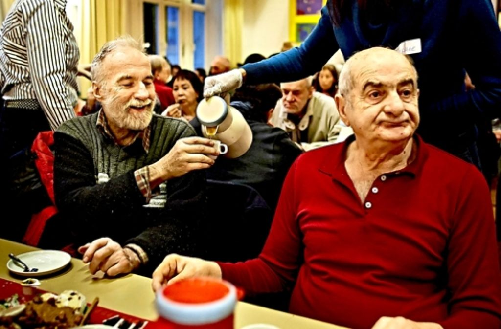 Hunderte Menschen kommen jedes Jahr zur Weihnachtsfeier der Evangelischen Gesellschaft Eva. Foto: Heinz Heiss