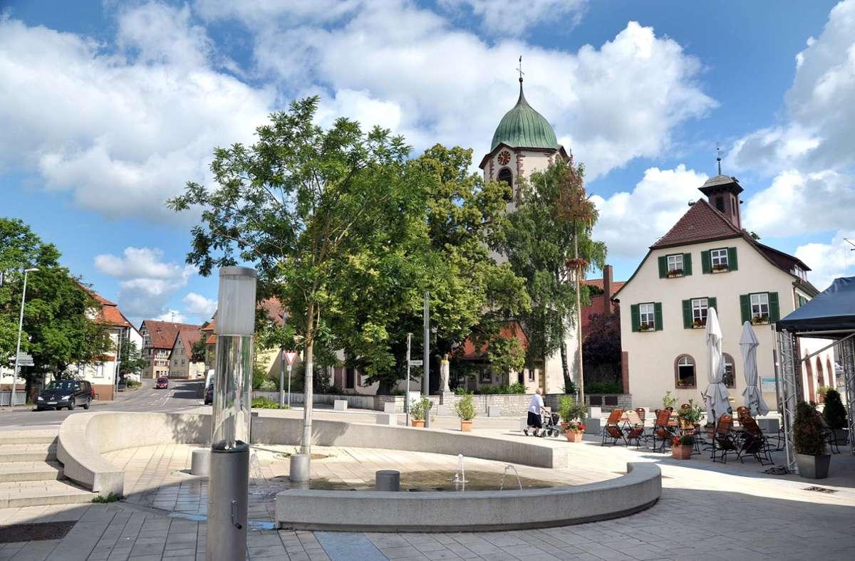 In der Ortsmitte von Malmheim kommt es wegen Tiefbauarbeiten zu Verkehrsbehinderungen. Foto: Archiv//Bischof
