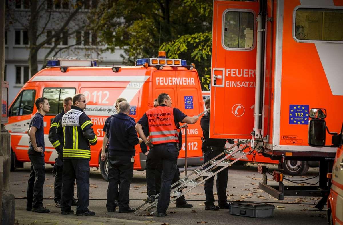 Feuerwehr im Einsatz (Symbolbild) Foto: dpa/Marijan Murat