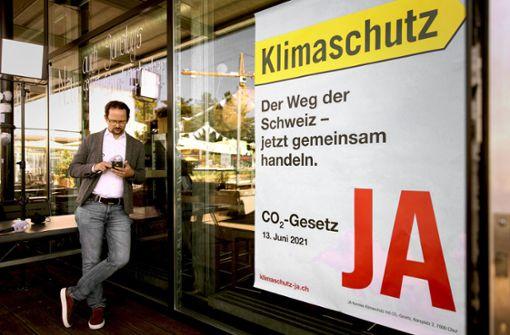 Mehr   Klimaschutz ist den Schweizern zu teuer