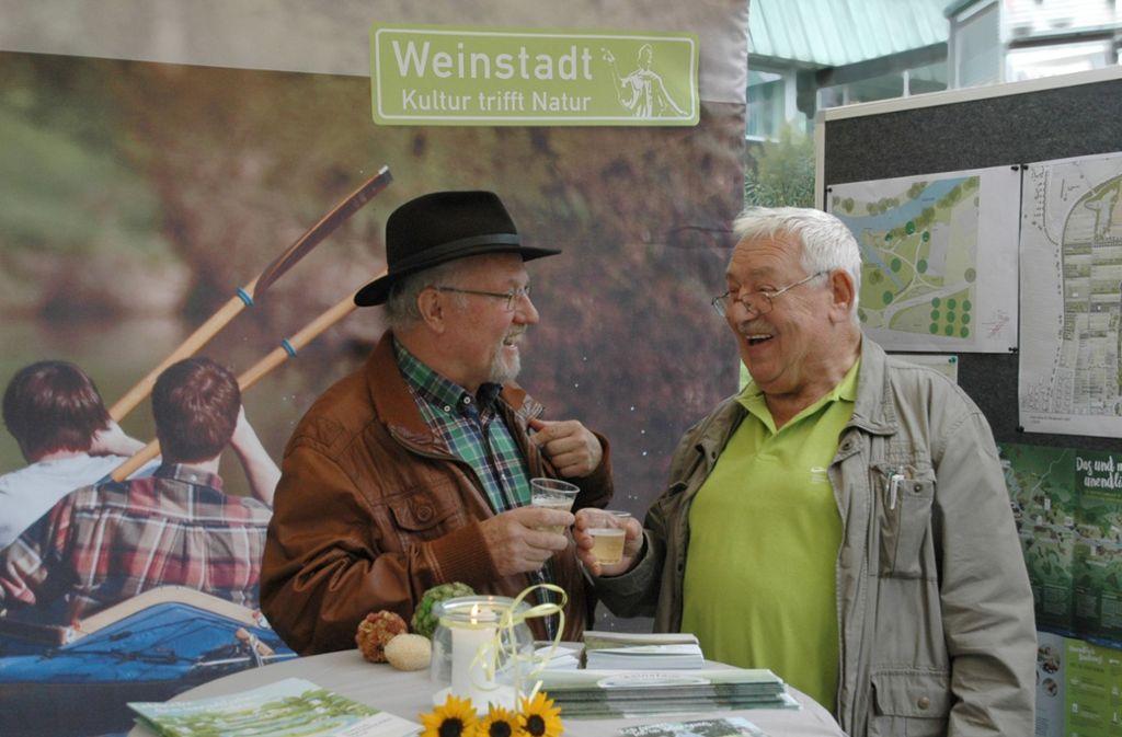 Heute ist Weinfest-Krämermarkt in Weinstadt-Endersbach. Foto: Stadt Weinstadt