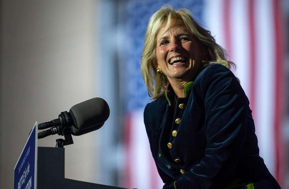 Jill Biden wird ihre Rolle als First Lady nutzen. Foto: AFP/JIM WATSON
