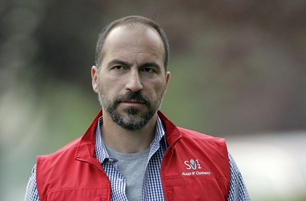 Expedia-Chef Dara Khosrowshahi soll Berichten zufolge künftig das Start-up Uber künftig führen Foto: AP