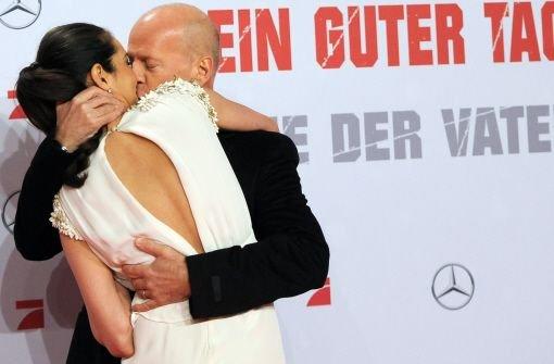 Bruce Willis: Ein Star zum Knutschen