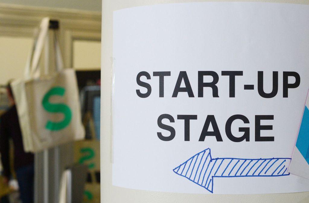 Im Südwesten nutzen viele Startup-Unternehmen ihre Bühne. Foto: dpa