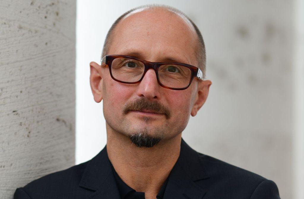 Der Autor Heinrich Steinfest Foto: dpa