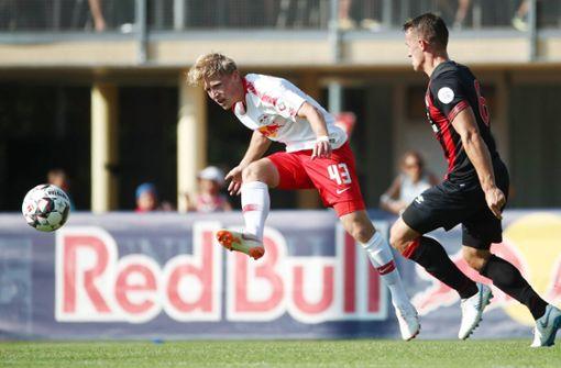 Die Blauen angeln sich   ein Talent von RB Leipzig