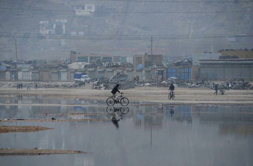 Immer wieder kommt es in Afghanistan zu Bombenexplosionen mit Todesfolge. Foto: AFP