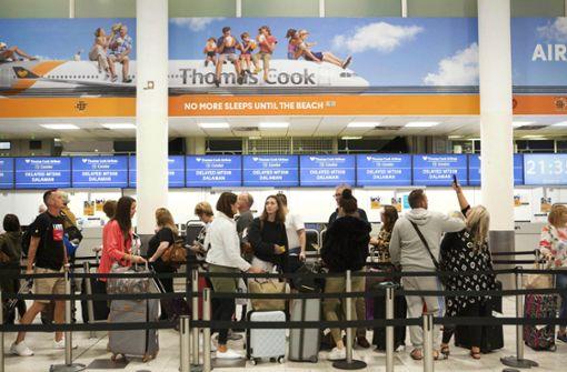 Thomas Cook sorgt für  Stress im Urlaub