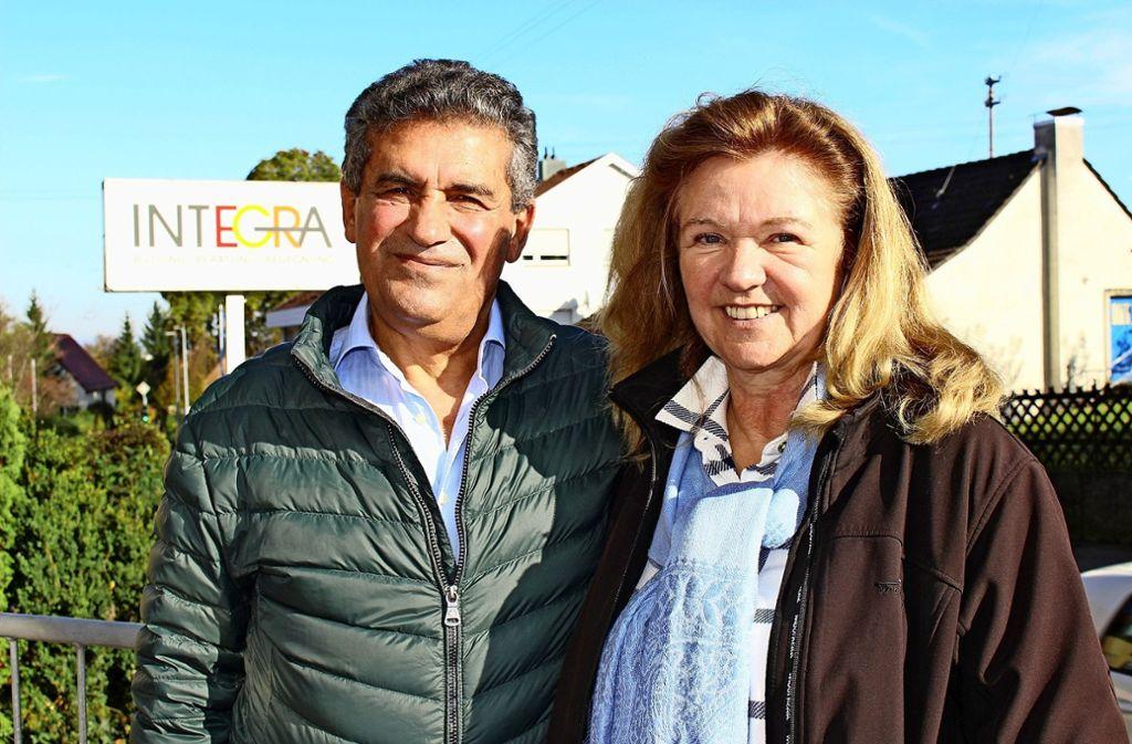 Mehmet Havlaci und Barbara Havlaci-Ludwig, die Gründer des Vereins Integra Filder, haben neue Pläne. Foto: Caroline Holowiecki
