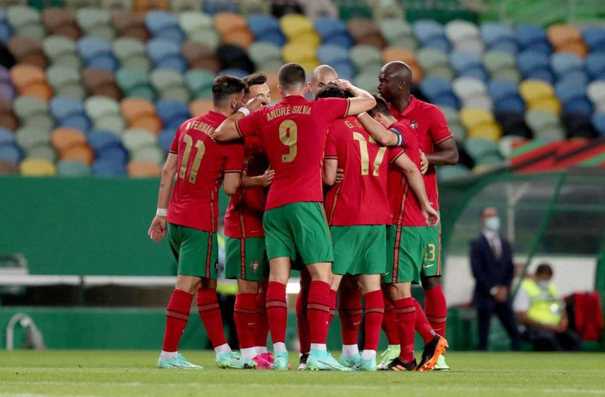 Sieg für Portugal Foto: imago images/NurPhoto/Pedro Fiuza