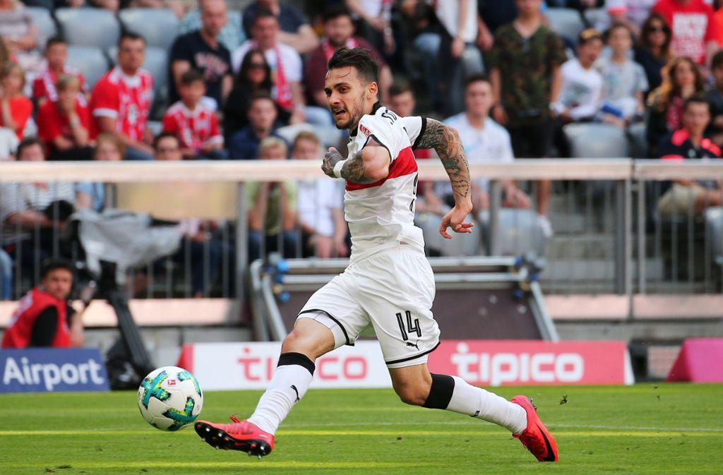 12. Mai 2018: Anastasios Donis trumpft gegen die Bayern groß auf. Foto: Baumann