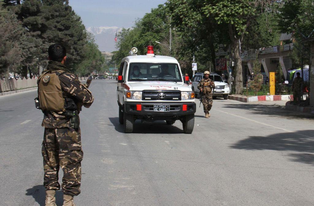 Zwei Explosionen haben die afghanischen Hauptstadt Kabul erschüttert. Foto: Anadolu