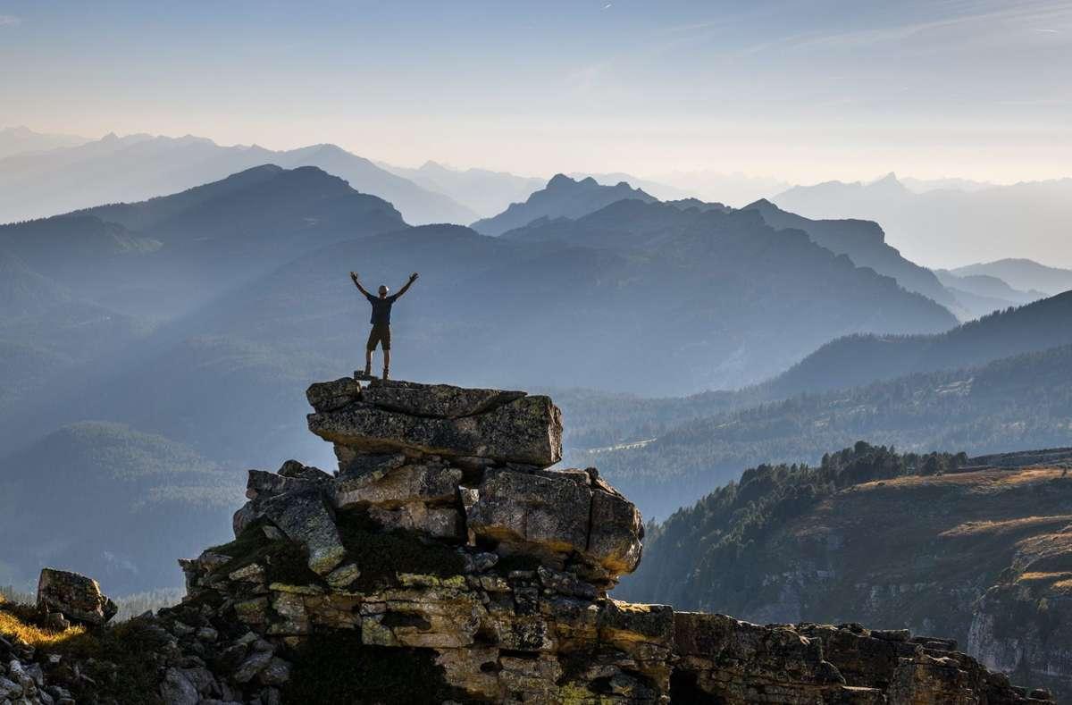 In der Schweiz kommen Gipfelstürmer, die ganz hoch hinaus wollen auf ihre Kosten, genauso wie ... Foto: Schweiz Tourismus