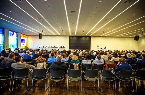 Der Debatte am Mittwoch   folgten ungewöhnlich viele Zuhörer Foto: Lichtgut/Leif Piechowski