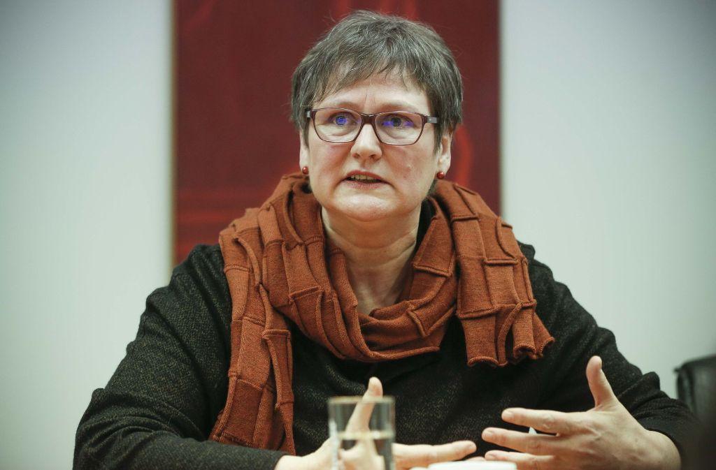 Leni Breymaier liebäugelt weiterhin mit Rot-Rot-Grün. Foto: Lichtgut/Leif Piechowski