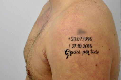 Mutmaßlicher Mörder hat makabres Tattoo