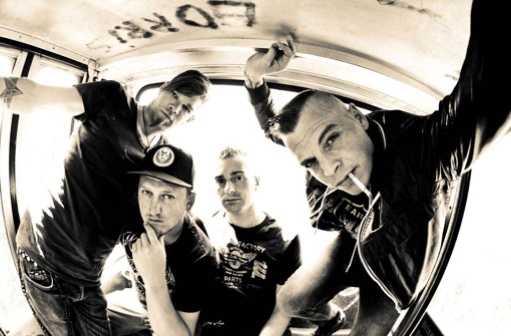 Die Bedenken gegen Freiwild sind nachvollziehbar. Alle vier Mitglieder der 2001 gegründeten Rockband Freiwild sind Anhänger der höchst dubiosen Band Böhse Onkelz. Foto: dpa