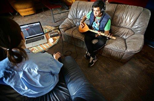 Kreative Kids schreiben ihre eigenen Songs