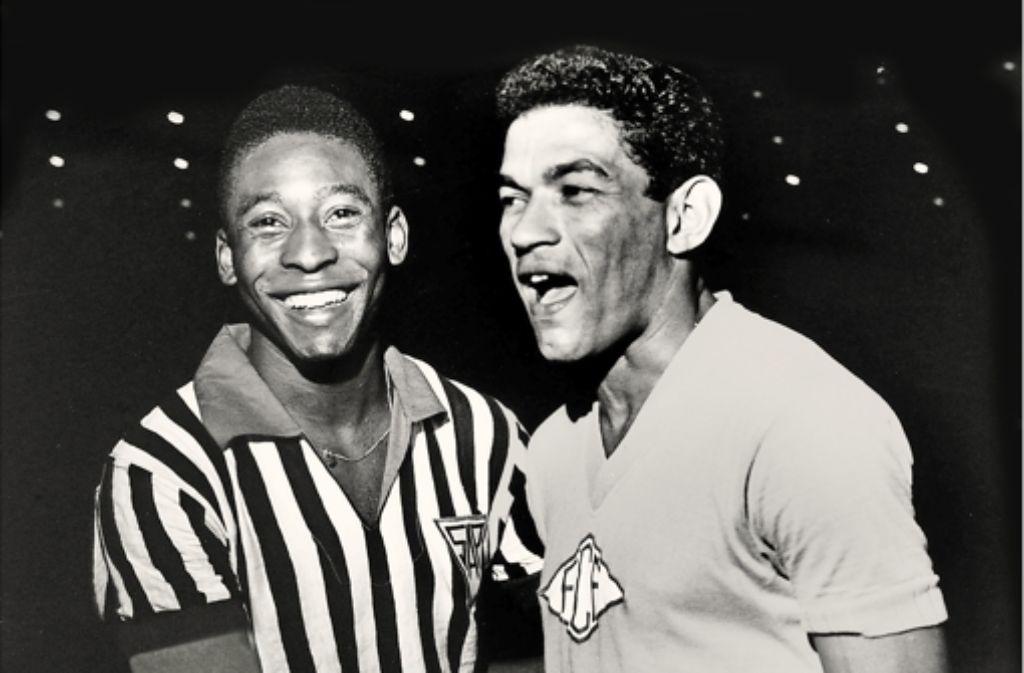Pele und Garrincha gewannen 1958 und 1962 die WM. Foto: Popperfoto