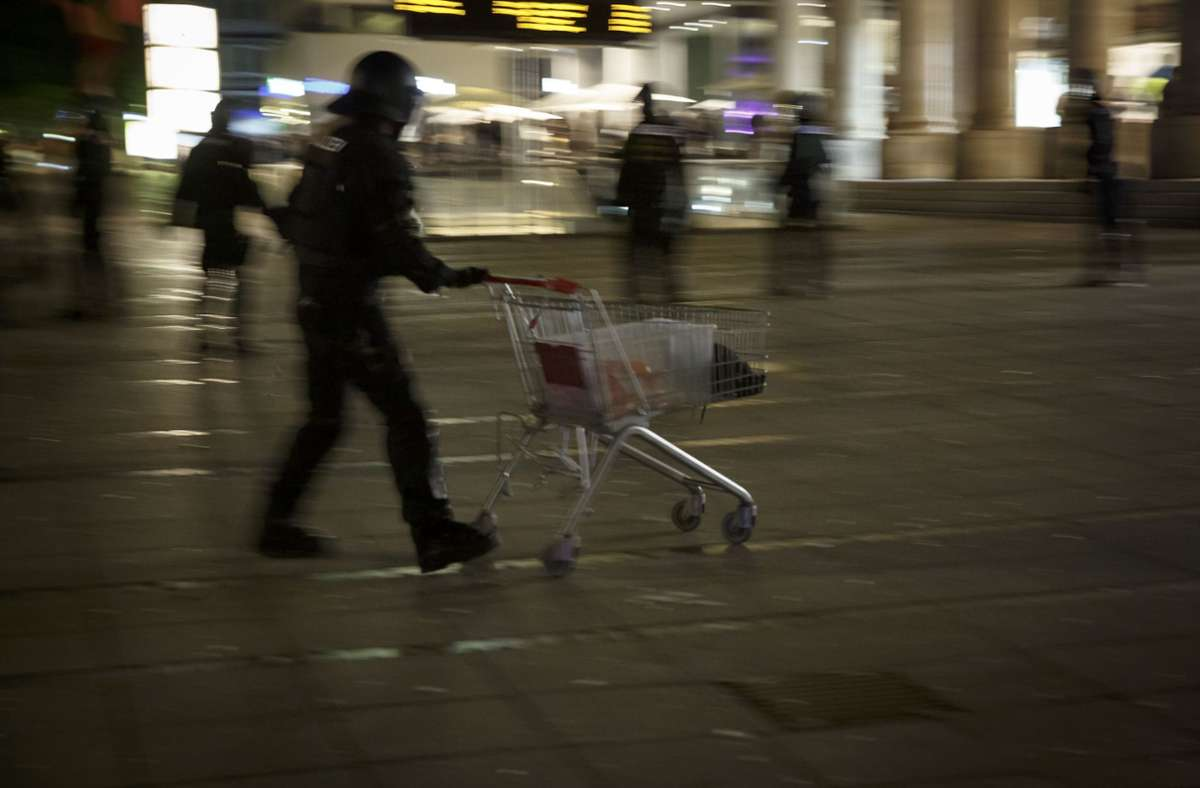Die ersten Prozesse im Zusammenhang mit der Krawallnacht stehen an. Foto: Lichtgut/Julian Rettig (Archiv)