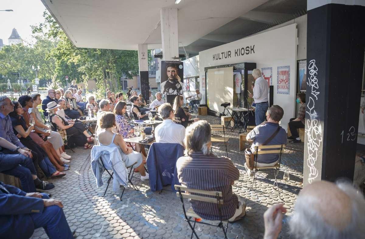 Die Veranstaltung ist gut besucht gewesen. Foto: Lichtgut/Julian Rettig