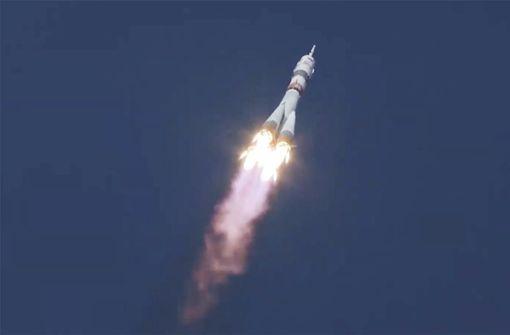 Drei Raumfahrer trotz Pandemie zur ISS gestartet