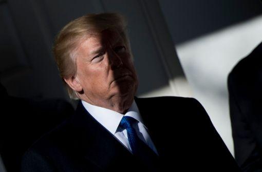 Trump lädt demokratischen Minderheitsführer zu Sondierungen
