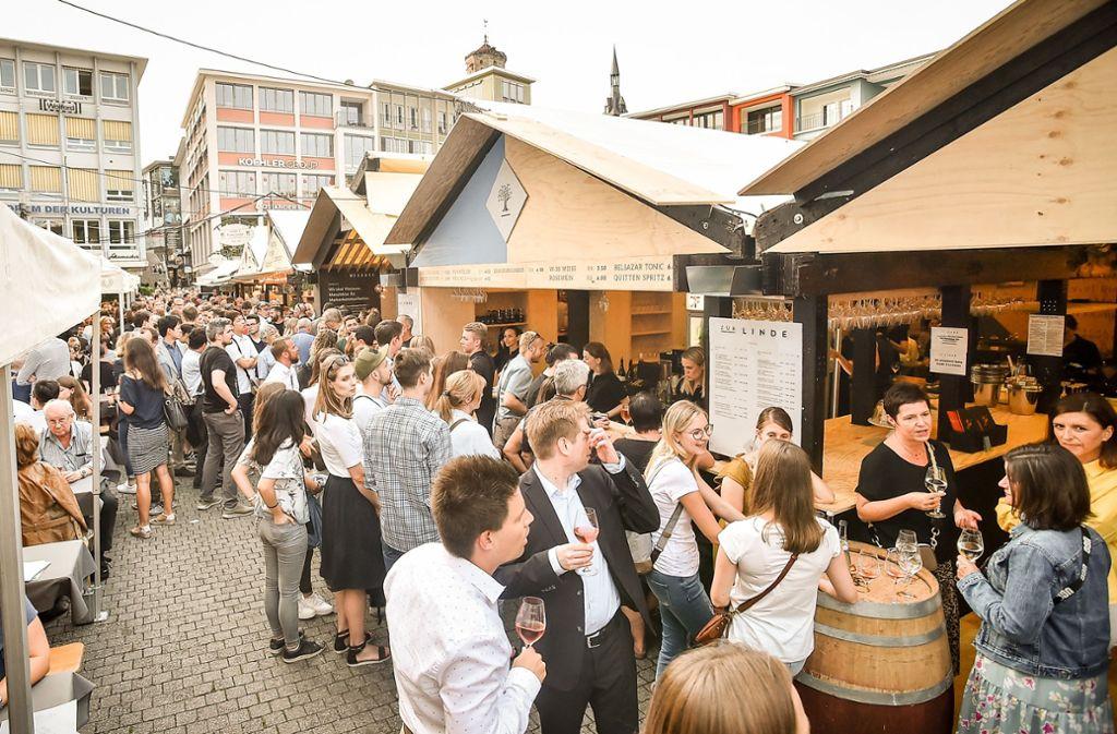 Bis zum 9. September können Besucher noch auf dem Markt-, Schillerplatz und in der Kirchstraße schorlieren. Foto: Lichtgut / Ferdinando Iannone