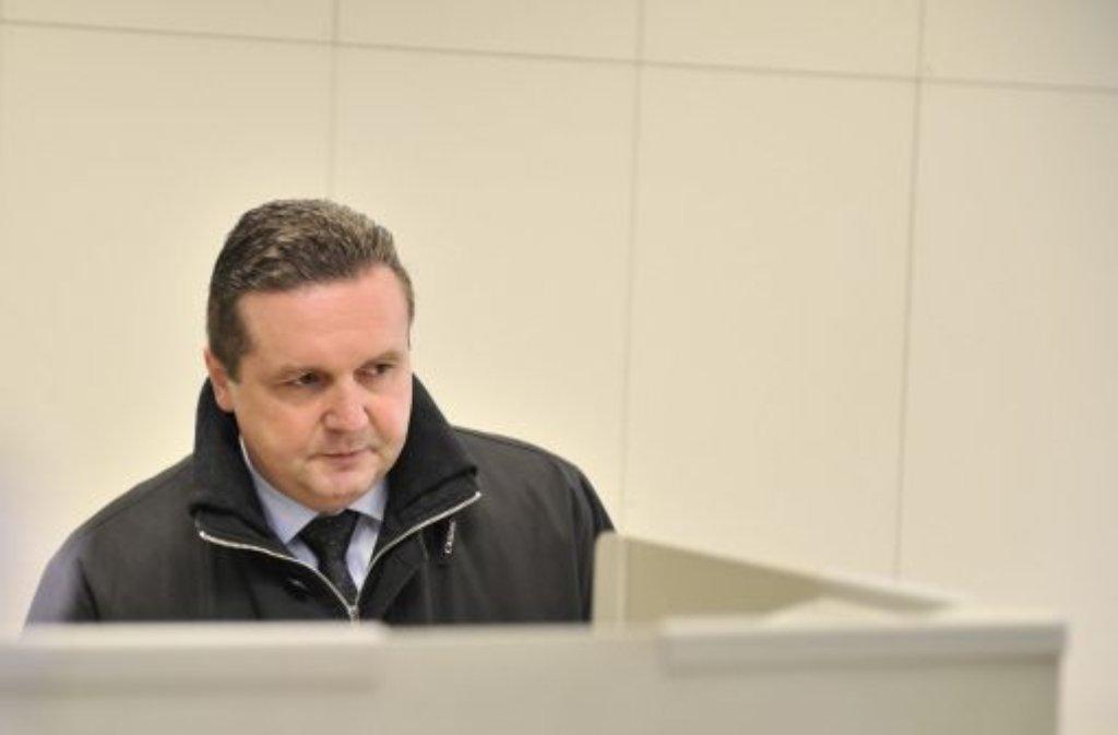 Der damalige Ministerpräsident Stefan Mappus am 27. März 2011 im Wahllokal in Pforzheim. Foto: dpa
