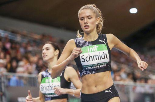 Alica Schmidt – zwischen Laufbahn und Laufsteg