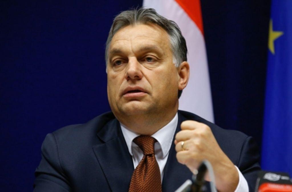 Der ungarische Ministerpräsident Orban hat in Sachen Internet-Steuer einen Rückzieher gemacht. Foto: dpa