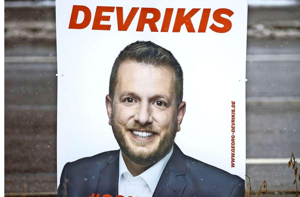 Georg  Devrikis kandidiert für die CDU Foto: Gottfried Stoppel