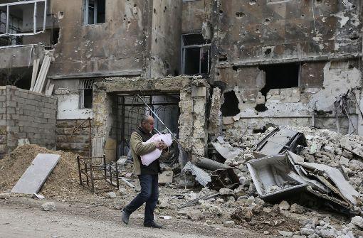 Syrien: Mehr als 30 Tote bei Angriff auf Schule