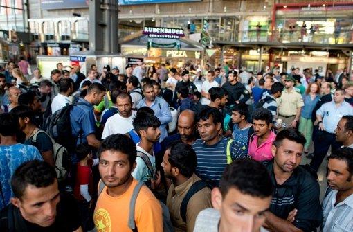 Viele Flüchtlinge in München erwartet