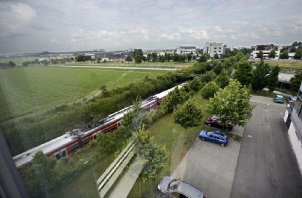 Die Schutzgemeinschaft Filder fordert den sofortigen Baustopp von Stuttgart21. Foto: Steinert