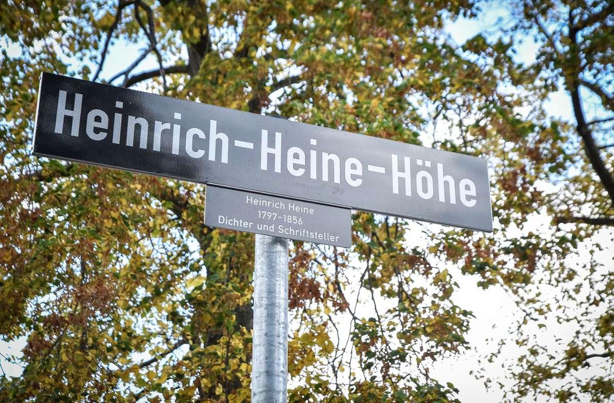 Stuttgart hat nun eine Heinrich-Heine Höhe. Foto: Lichtgut/Ferdinando Iannone