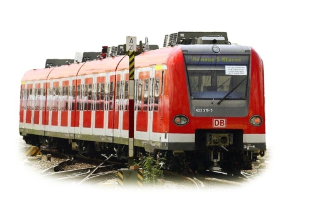 Die Ausbau der S-Bahn-Linie 5 nach Vaihingen/Enz rückt näher. Foto: dpa