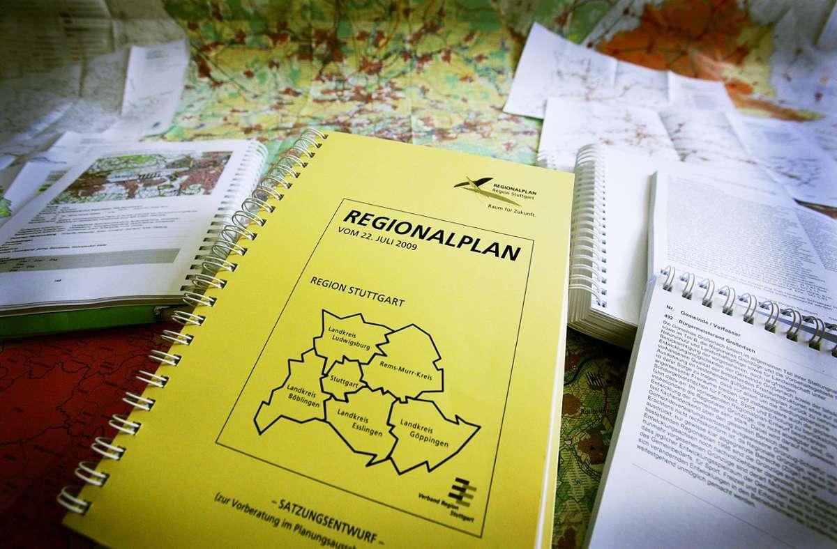 Der Regionalplan schreibt Ziele der Entwicklung in der Region Stuttgart fest. Taugt er auch für die Zeit nach der Corona-Pandemie? Foto: Michael Steinert/Archiv
