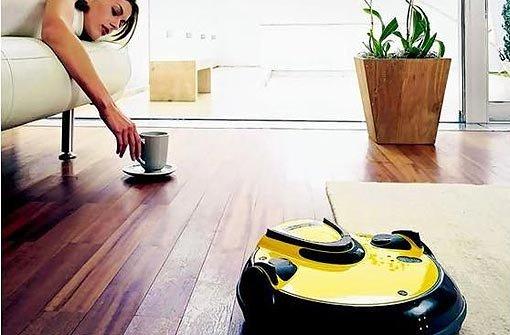 Wenn der Roboter die Wohnung saugt