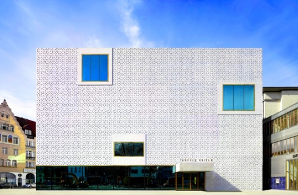 Das Museum der Bregenzer Architekten Cukrowicz Nachbaur Foto: Adolf Bereuter