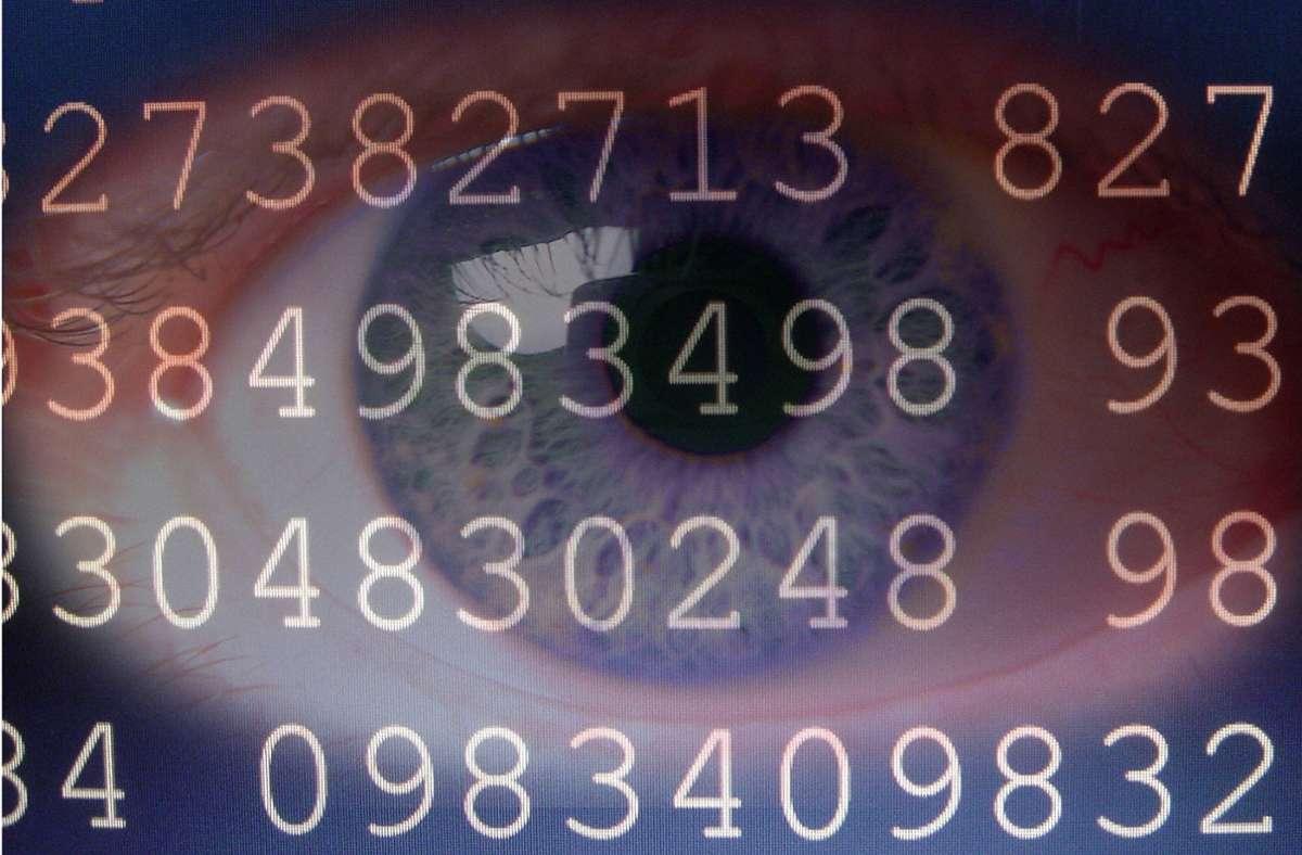 Die menschliche Seele, aufgelöst in Zahlen Foto: imago/Panthermedia