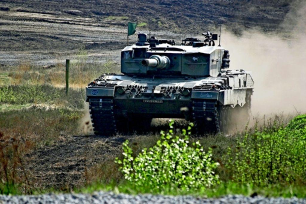 Achtung, Gefahr von Panzern! Auch das war einmal, heute wird dort gewandert. Foto: