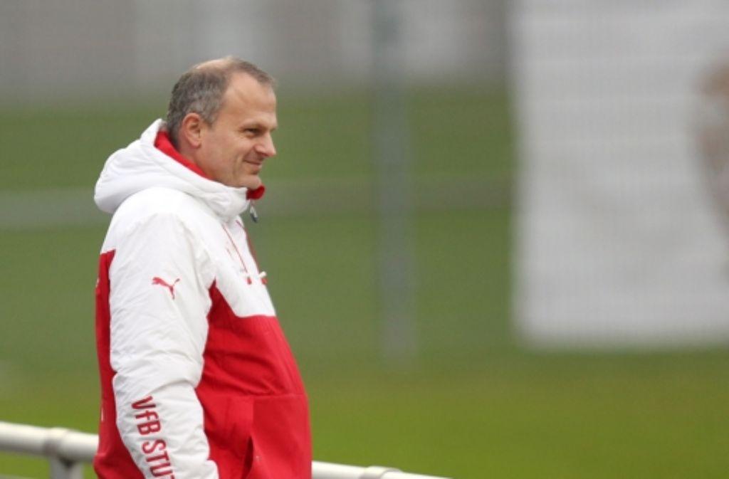 Sportdirektor Jochen Schneider will offenbar seinen Posten beim VfB Stuttgart aufgeben. Foto: Pressefoto Baumann