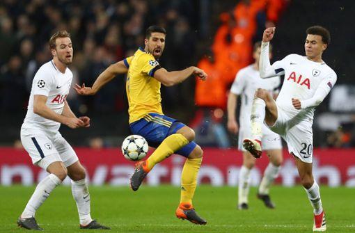 Sami Khedira mit Juventus im Viertelfinale