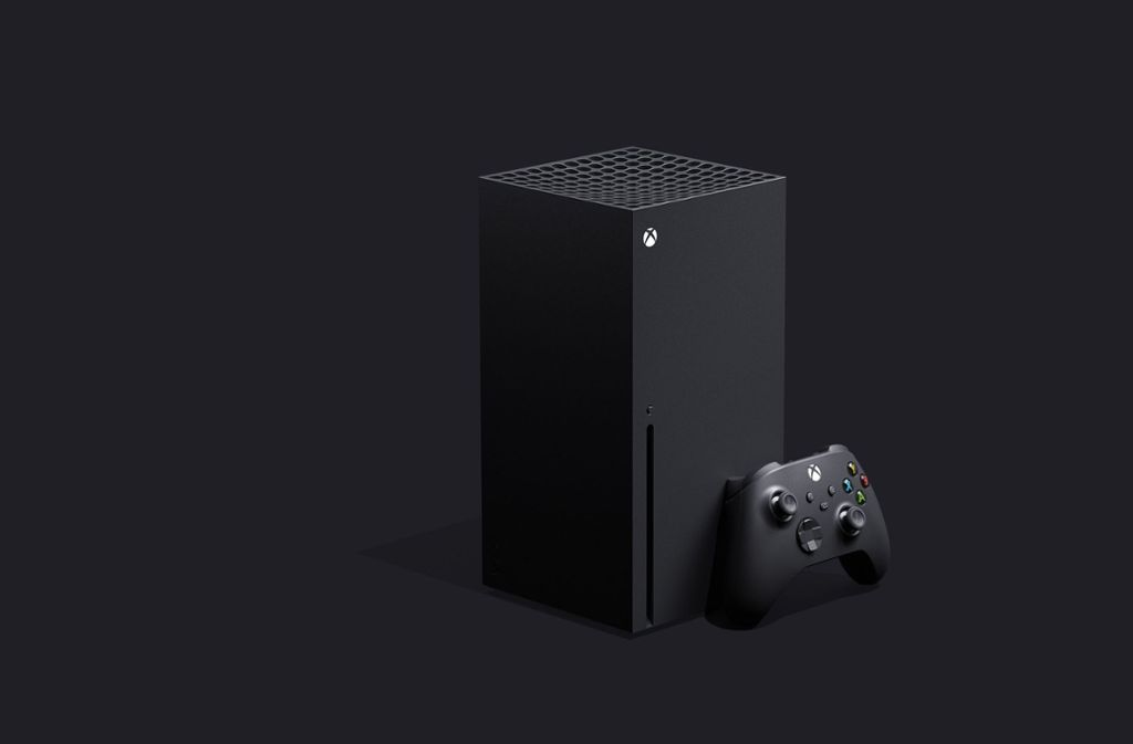 Die Xbox Series X ist weitaus größer als bisherige Konsolen Foto: Microsoft