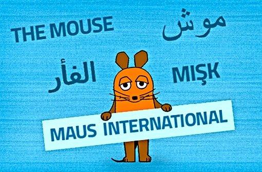 """Lach- und Sachgeschichten in vielen Sprachen:   """"Maus international"""" Foto: WDR"""