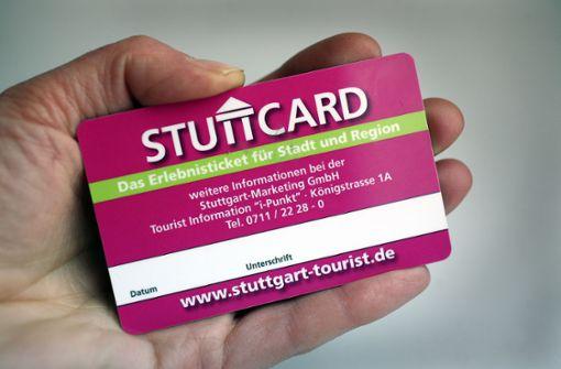 So teuer sind Touristentickets in Stuttgart